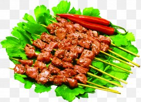 Mid-meat Barbecue Food Village - Barbecue Kebab Satay Korean Cuisine Chuan PNG