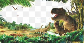 Dinosaur Forests - Dinosaur Old-growth Forest PNG