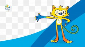 Rio Olympic Mascots Background - 2016 Summer Olympics 2012 Summer Olympics Winter Olympic Games Rio De Janeiro Paralympic Games PNG