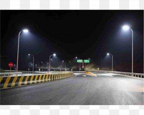 Street Light - LED Street Light LED Lamp Light-emitting Diode PNG