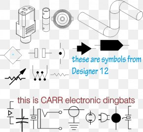 Symbol - CorelDRAW Electricity Electronic Symbol Wiring Diagram Circuit Diagram PNG