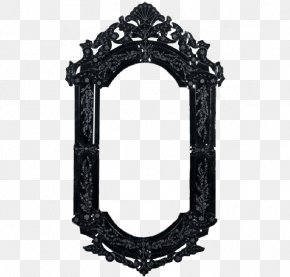 Mirror Picture - Mirror Gothic Architecture Interior Design Services Picture Frame PNG