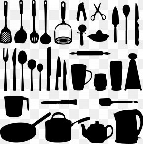 Vector Hand-painted Kitchen - Kitchen Utensil Clip Art PNG