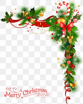 Christmas Wreath With Bells - Christmas Decoration Christmas Tree Clip Art PNG