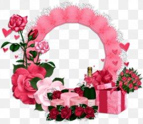 Birthday - Garden Roses Birthday Flower Bouquet Floral Design PNG