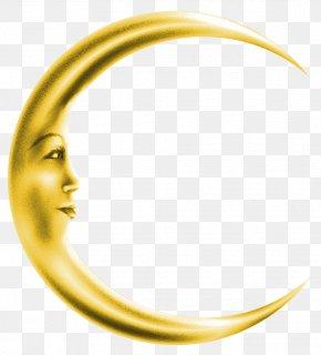 Crescent Moon Pictures,Golden Crescent - Moon Clip Art PNG