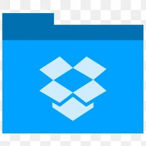 Dropbox - Blue Square Angle Symmetry PNG