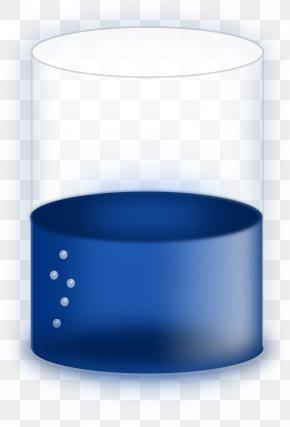 Water Glass - Cylinder Liquid Beaker Clip Art PNG