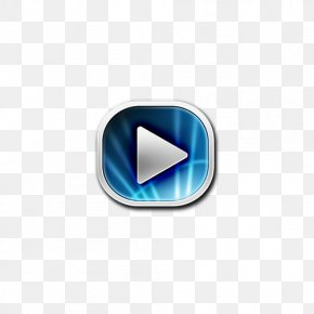 Round Rectangle Android Download Button - Media Player Android Download Button Icon PNG