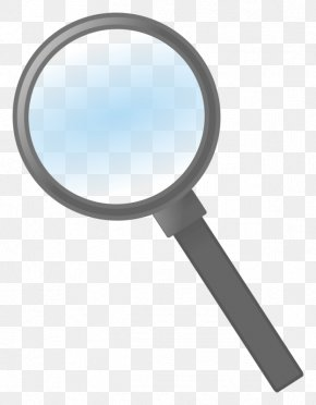 Magnifying Glass - Clip Art Magnifying Glass Openclipart Image PNG