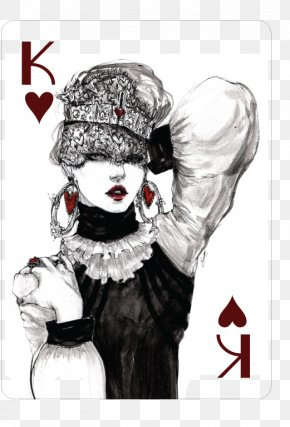 King - Hearts Playing Card King Card Game Fashion PNG