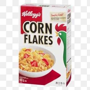 Breakfast - Corn Flakes Breakfast Cereal Frosted Flakes Kellogg's All-Bran Buds PNG