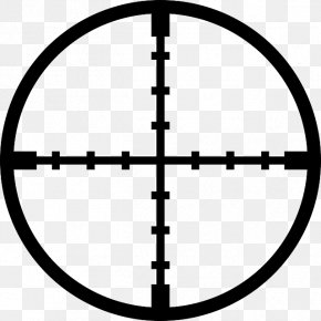 Target Reticle - Reticle Telescopic Sight Clip Art PNG