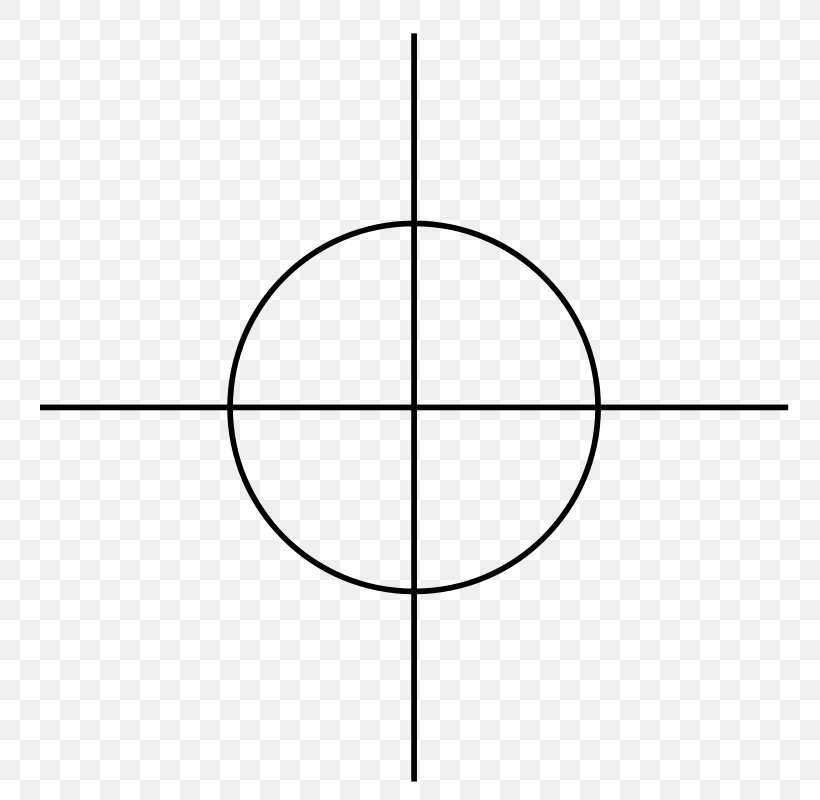 Reticle Clip Art, PNG, 800x800px, Reticle, Area, Black And White, Line Art, Point Download Free