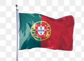 Hand Painted Portuguese Flag - Flag Of Portugal Portuguese Guinea National Flag PNG