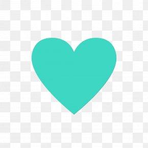 Logo Azure - Heart Aqua Green Turquoise Teal PNG