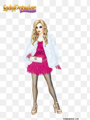 Lady Popular - Lady Popular Fashion Dress-up Game Clothing PNG