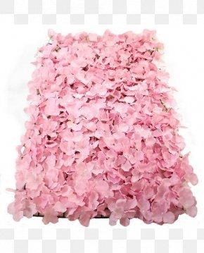Flower Wall - Artificial Flower Petal Bruidsboeket Pink Flowers PNG