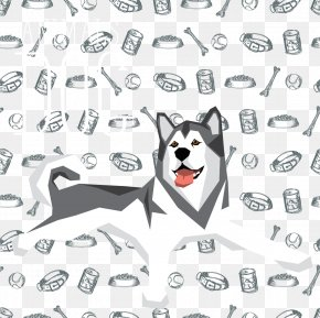 Decorative Cute Pet Husky - Siberian Husky Pet PNG