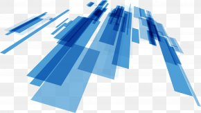 Blue Abstract Science And Technology Lines - Line Science Technology PNG