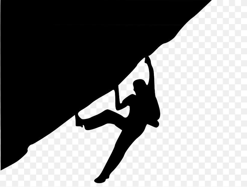 Rock Climbing Sport Climbing Climbing Wall Clip Art, PNG, 817x621px, Climbing, Arm, Art, Black, Black And White Download Free