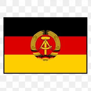Flag - Flag Of East Germany East Berlin Flag Of Germany PNG