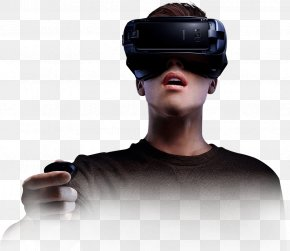 VR Headset - Samsung Galaxy S8 Samsung Gear VR Virtual Reality Headset Immersion PNG
