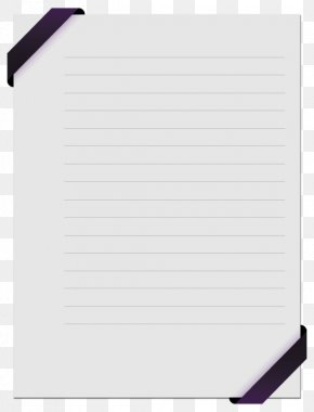 Purple Side Stationery - Paper Notebook PNG
