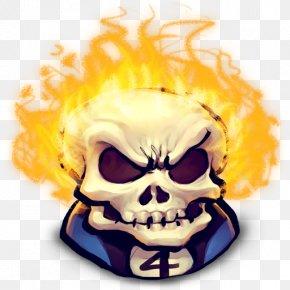 Ghost Rider Face File - Ghost Rider Wolverine Hulk Johnny Blaze Clip Art PNG