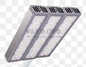 Street Light - Light Fixture Light-emitting Diode LED Lamp Street Light Solid-state Lighting PNG