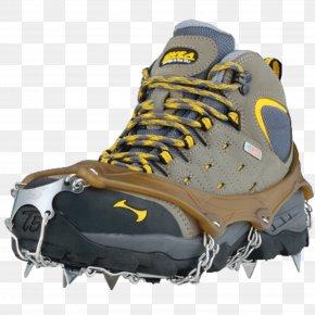 Hiking - Crampons Shoe Footwear Mountaineering Sneakers PNG