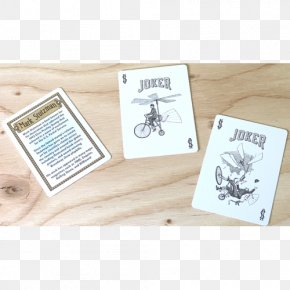 Flying Cards - United States Playing Card Company Bicycle Playing Cards Font PNG