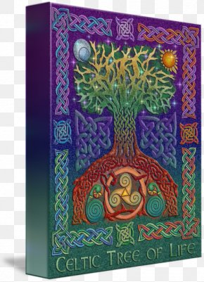 Celtic Tree Of Life - Book Of Kells Celtic Art Celtic Knot Tree Of Life PNG
