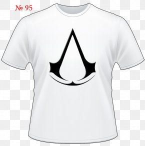 Black T-shirt - Assassin S Creed Stickers 16 X 11 Cm Edward / Altair Assassin's Creed Chronicles: China T-shirt Product Design Brand PNG