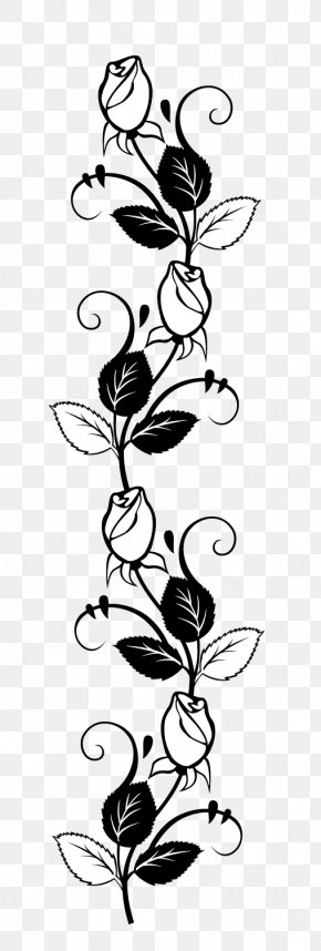 Rose - Rose Stencil Drawing Silhouette PNG