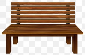 Wooden Bench Clipart Image - Table Bench Clip Art PNG