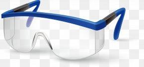 Eye Mask Vector Material - Goggles Laboratory Beaker Illustration PNG