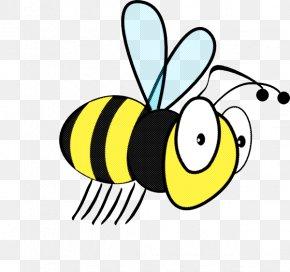 Wasp Cartoon - Bumblebee PNG