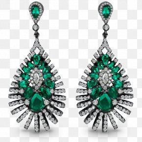 Emerald - Emerald Earring Jacob & Co Jewellery Costume Jewelry PNG