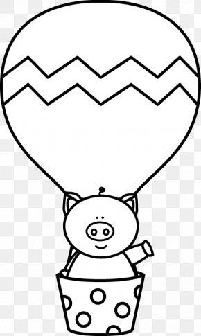 Hot Air Balloon Cute - Hot Air Balloon Clip Art PNG