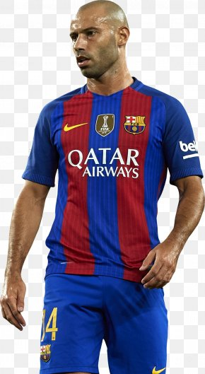 Fc Barcelona - Javier Mascherano Argentina National Football Team FC Barcelona Jersey PNG