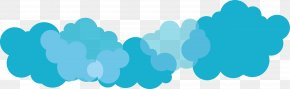 Cloud - Cloud Blue Euclidean Vector Computer File PNG