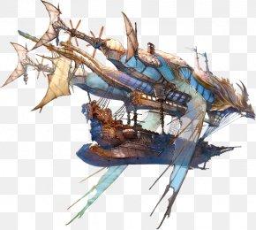 Steampunk Universe Airship Granblue Fantasy I Am Setsuna PNG
