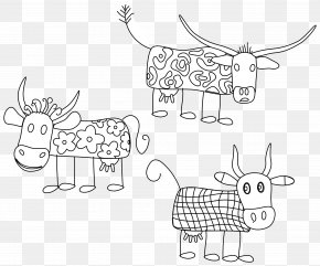 Book - Cattle Black And White Coloring Book Drawing Clip Art PNG