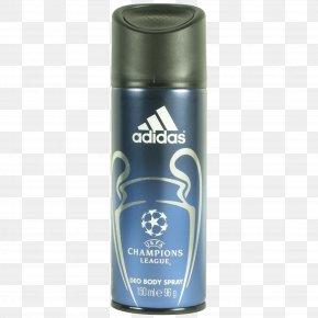 Spray - UEFA Champions League Body Spray Deodorant Adidas Perfume PNG