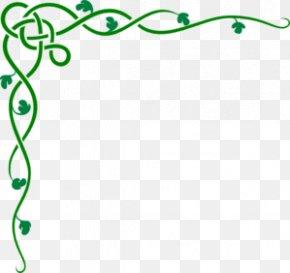 Green Cliparts - Decorative Borders Ornament Interior Design Services Clip Art PNG