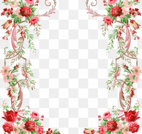 Women Framework - Flower Floral Design Clip Art PNG