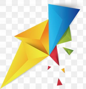Color Triangle Geometry Shard - Triangle Geometry PNG