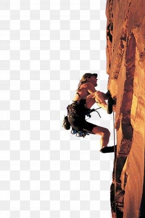 Rock Climbing Woman - Sport Climbing Rock Climbing Mountaineering PNG