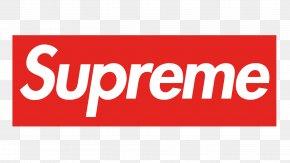 T-shirt - Supreme T-shirt Logo Graphic Design PNG